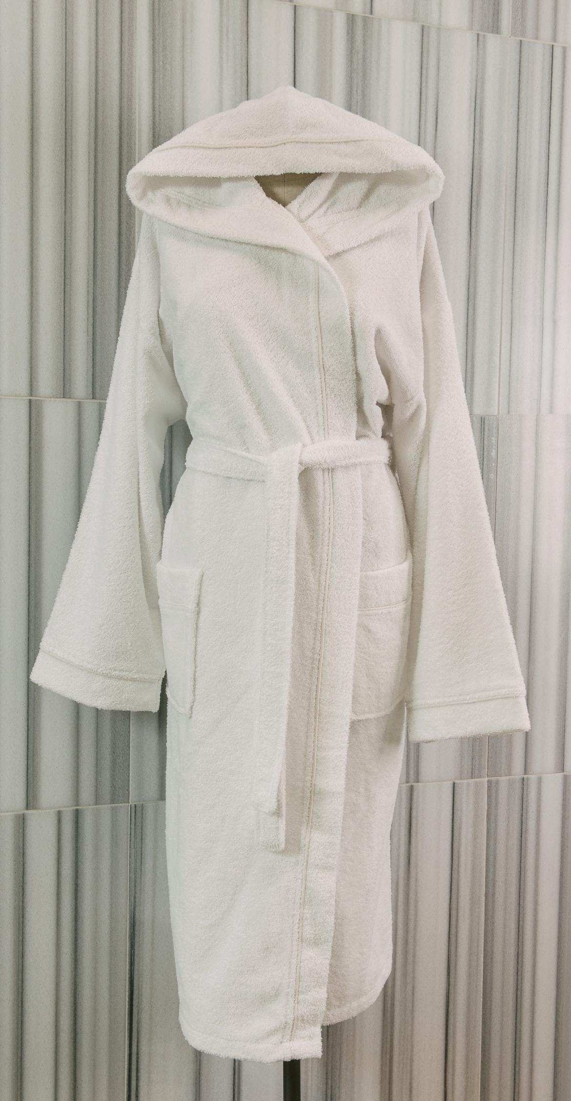 Talesma Terry Hooded Bathrobe